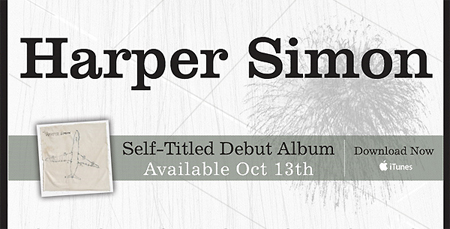 Harper Simon - Debut Album
