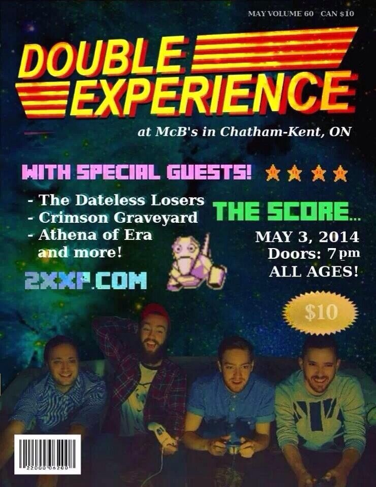 double experience show poster